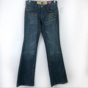 NWT 7 For All Mankind Great Wall Of China Jeans 26